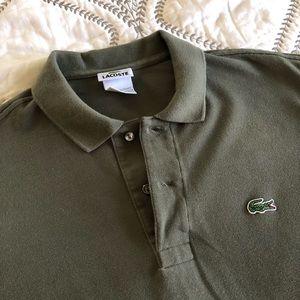 Lacoste Gray Polo